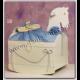 Βαπτιστικό κουτί αλογάκι