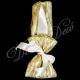 Μπομπονιέρα σατεν μαντηλι με δαντελα