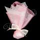 Μπομπονιέρα τουλινη με μαντηλι οργαντζας