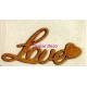 Ξυλινο διακοσμητικο love