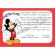 Προσκλητήριο Mickey maouse 01